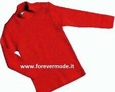 Maglia bambina Liabel manica lunga a lupetto in caldo misto lana art 5149-163R