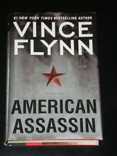 AMERICAN ASSASSIN by Vince Flynn (2010, Hardcover) MITCH RAPP, Made into Movie