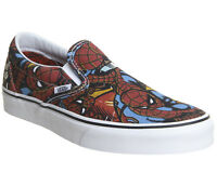 VANS CLASSIC SLIP ON MARVEL SPIDERMAN BLACK 2018 MENS LIMITED EDITION