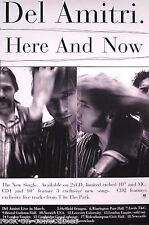 Del Amitri 1995 Twisted Here And Now Original Promo Poster