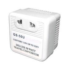 ADAPTADOR TRANSFORMADOR CORRIENTE PARA CONECTAR EN USA CONVIERTE 110V EN 220V