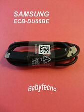 SAMSUNG CAVO DATI Micro USB ORIGINALE ECB-DU68BE I9301 I9500 I9505 S3 S4 S7390 2