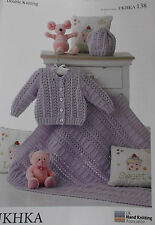 Baby Knitting Pattern DK    -   UKHKA 138