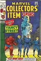 MARVEL COLLECTORS' ITEM CLASSICS #21 Fine, FF Iron Man, Marvel Comics 1969