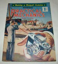 Newnes PRACTICAL MECHANICS Magazine July 1955 - Making a Midget Camera