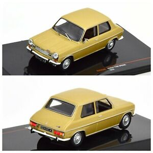 1/43 Ixo Simca 1100 Special 1970 Dore Neuf Boite D'Origine Livraison Domicile