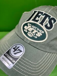 H522 NFL New York Jets '47 Clean Up Trucker Hat / Cap OSFA NWT
