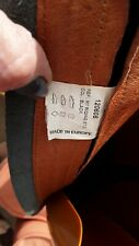 Mark Todd Black long leather riding boots size 6.