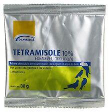 Tetramisole 10 %  30 gr per uccelli da gabbia e voliera (sverminante)