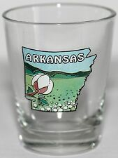 "Arkansas Shot Glass Flower Meadow 2 1/4"" High"