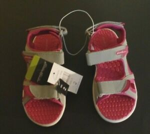 Eddie Bauer Grey/Pink girl's Sandals Madison new LIMITED!!