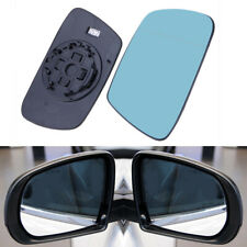 1 Pair Mirror Glass for 05-10 JEEP GRAND CHEROKEE Left Right Side HEATED Blue
