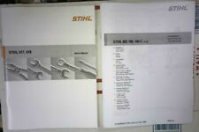 MS 180 MS180 C Stihl Chainsaw Service Workshop Repair & Parts Diagram Manual