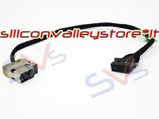 Connettore DC Power Jack con cavo per Notebook HP ENVY 15-j030us 15-j031nr