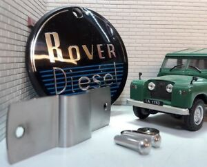 Diesel 2 Litre Engine Grill Panel Repro Badge Land Rover Series 1 2 & Fittings