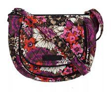 NWT Vera Bradley Rosewood Lizzy Crossbody Purse Bag