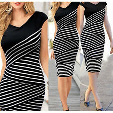 Summer Women Elegant Office Lady Formal Business Work Evening Party Pencil Dress