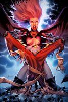 🔥💀 HELLIONS #3 JAY ANACLETO Exclusive Virgin Red 🔴 Variant / X-Men NM