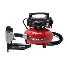 Porter-Cable Finish nailer fn250c nail gun  c2002 air compressor Combo PCFP72671