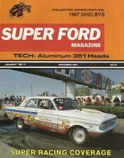 SUPER FORD 1981 NOV - GTO MUSTANG, CLUB PANTERA, 351W SK HEADS, HENRY J