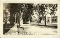 Thomaston ME Main St. & Prison c1920 Real Photo Postcard