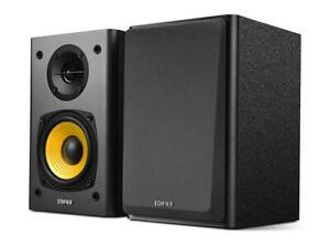 Edifier R1000T4 Active Bookshelf Studio Turntable/TV/MAC/PC Speakers - Black