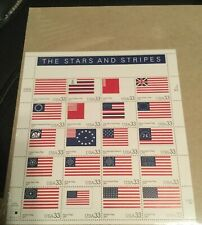 US Scott 3403 The Stars and Stripes Mint Sheet of 20 Stamps In Sealed Package