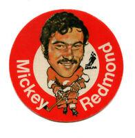 1973/74 Mac's Milk Mikey Redmond Cloth Sticker Detroit Red Wings