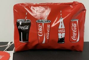 LeSportsac Coca Cola Extra Large Rectangular Cosmetic Bag in Clink Clink New