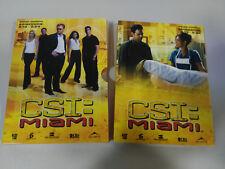 CSI MIAMI SEGUNDA TEMPORADA 2 - 3 DVD CAJA DESPLEGABLE CAPITULOS 13-24