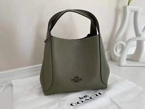 NWT COACH hadley hobo 21 Leather Crossbody Satchel