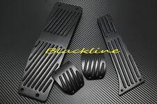BMW MT Manual Aluminum BLK Pedal Set E82 E87 E88 E46 M3 E90 E91 E92 E93 3 Series