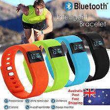 Bluetooth Smart Bracelet Fitbit Style Sport Watch Step Counter Pedometer Tracker