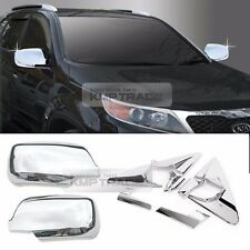 Chrome Mirror Bracket Garnish Mirror Cover Molding 6P For KIA 2010-12 Sorento R