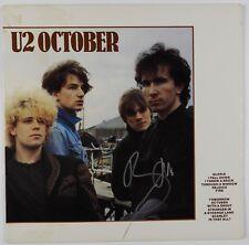 U2 Bono October Signed Autograph Record Album JSA Vinyl