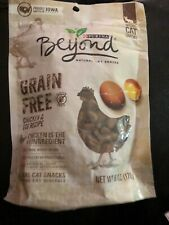 Purina Beyond Grain Free Chicken & Egg Recipe Natural Cat Snacks 6 oz. Pouch