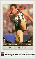 AFL COLLINGWOOD CLUB HALL OF FAME COLLECTION NORM SMITH MEDAL #51 TONY SHAW
