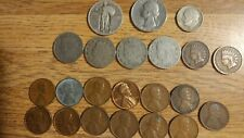 New listing Ultimate Collection of 22 Old Coins Liberty Quarter Indian Wheat Penny