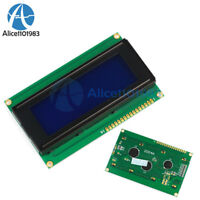 3.3V Blue 2004 20x4 Character LCD Display Module w/Tutorial,HD44780 Controller