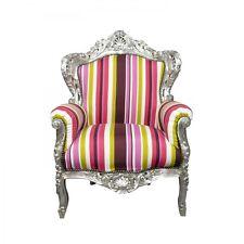 Htdeco Fauteuil baroque multicolore