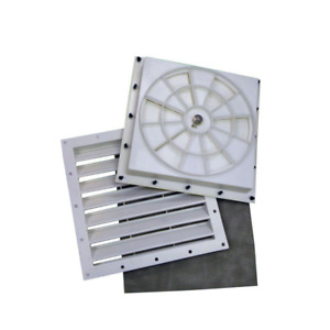 Automatic Shelter Vent Kit 2-PACK Temperature Humidity Moisture Fabric Garage
