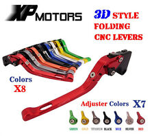 3D Feel Foldable Brake Clutch Levers For Ducati Streetfighter/S 1098/S/Tricolor