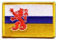 Niederlande Limburg Aufnäher Flaggen Fahnen Patch Aufbügler 8x6cm