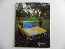 Brochure CHRYSLER VALIANT GALANT AUSTRALIE de 1971