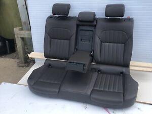 Skoda Superb Estate Mk3 rear Leather Seats, Heated 2016 Dakota Braun