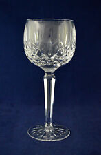"""Waterford Crystal """"LISMORE"""" Wine / Hock Glass – 18.7cms (7-3/8″) Tall"""