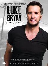 Luke Bryan The Man the Music Country Music Star Bio New DVD Region 4