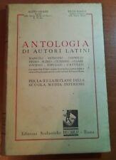Antologia Di autori latini - A.Grassi/T.Nardi - Decarlo - 1950 - M