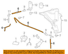 AUDI OEM 13-16 Q5 Washer-Headlight Head Light-Washer Hose 7P6955964A