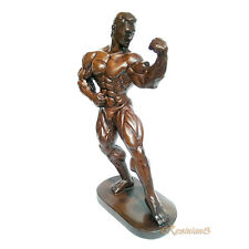 Male Bodybuilder Resin Statue Men Sexy Fitness Gym Figure Muscle Bodybuilding